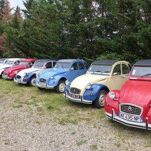 Séminaire Ardèche - Rallye 2CV