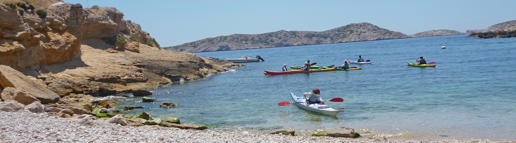Week-end à Marseille - Kayak de mer