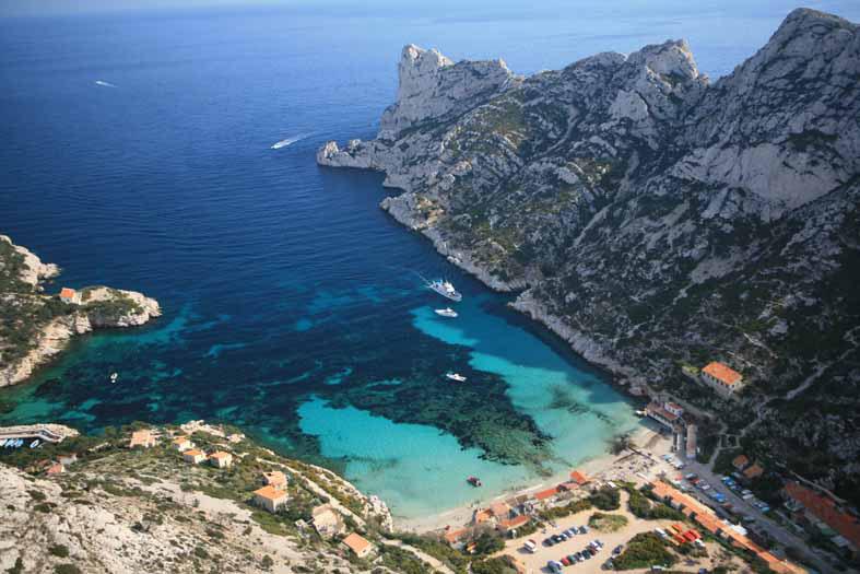 Journée Côte d'Azur - Cassis et les calanques