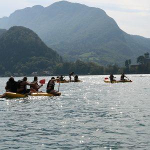 Séminaire Annecy - Challenge sur le lac et soirée tipis