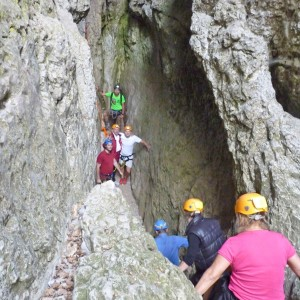 Seminar in the Ardèche : Canoe challenge and a Walk to the centre of the Earth