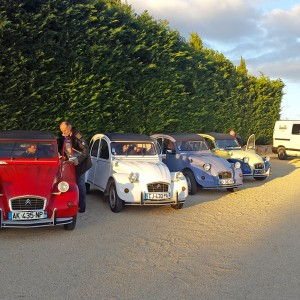 2CV Rally in the Ardeche