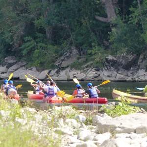 Week-end sportif en Ardèche