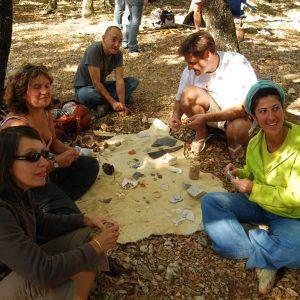 Team-building préhistorique au cœur de l'Ardèche