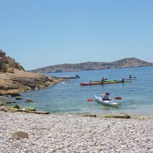 Weekend in Marseille – Kayaking on the sea